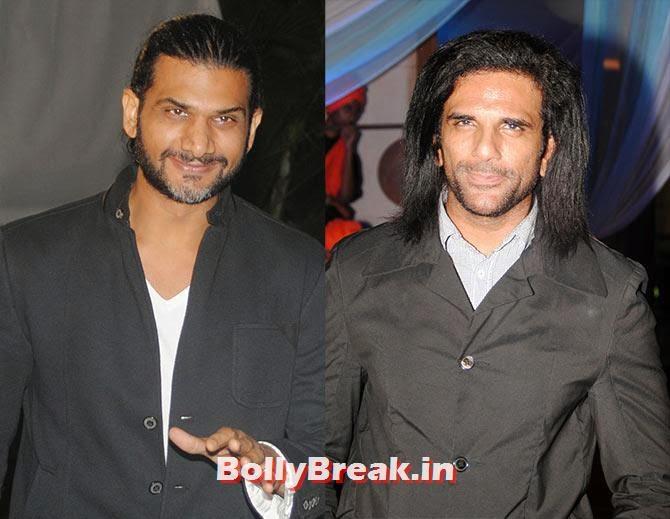 Ali Hasan, Arav Chowdhary, Indian Tv Serial Mahabharat Heroines and Heroes Pics from Success Party