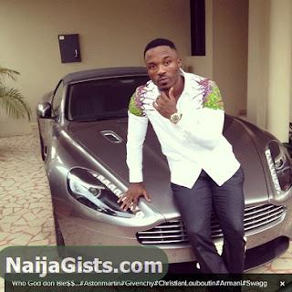 iyanya new aston martin vantage car n30 million