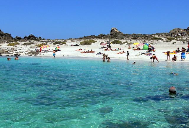 Praia Las Tijeras no Chile
