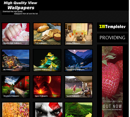 2014Gallery Blogger Template