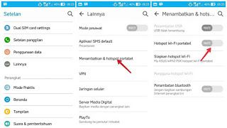 2 Cara Gampang Menyebabkan Hp Android Sebagai Modem Wi-Fi