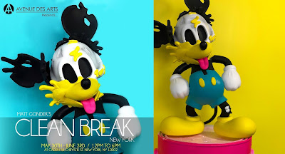 Deconstructed Mouse Donald Duck Edition Disney Mickey Mouse Vinyl Figure by Matt Gondek x ToyQube x Avenue des Arts