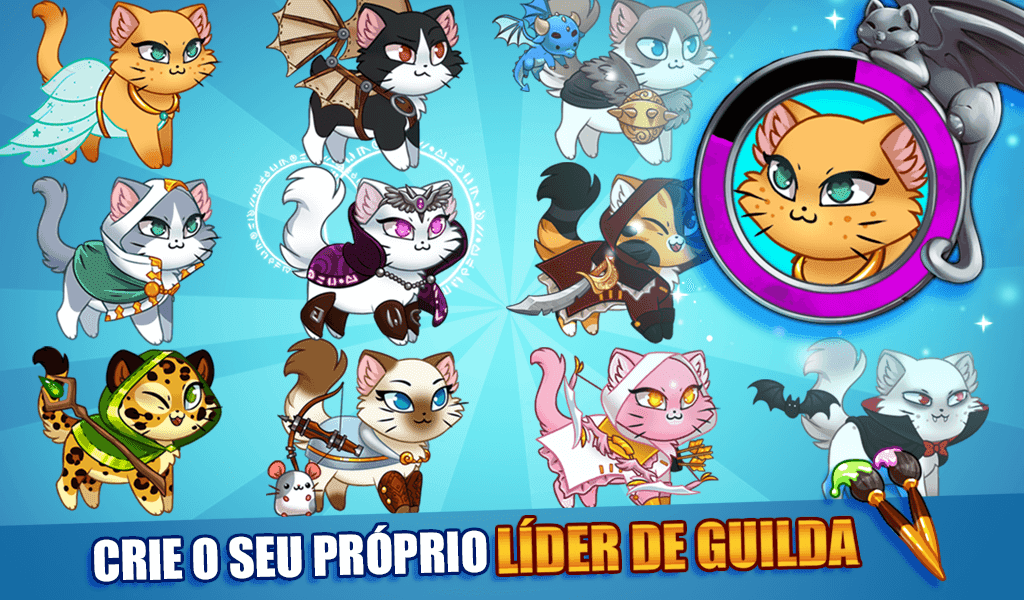 Castle Cats MOD Compras Grátis / Dinheiro Infinito 2.17