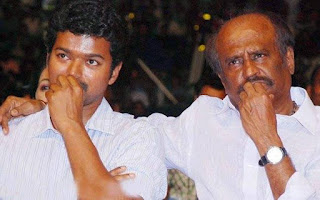 war between rajinikanth and vijay fans