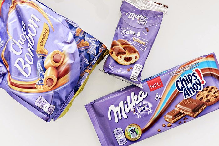 Milka-News #4 :: Milka Choco Bonbon / Cake & Choc / Chips Ahoy! Milkatafel
