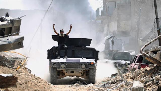 Inicio del fin del 'califato': Daesh admite su derrota en Mosul