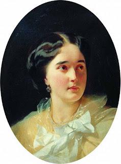 Макаров Иван Кузьмич (1822-1897) Портрет графини Дарьи Васильевны Олсуфьевой