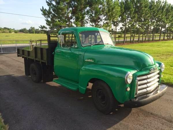1953 Gmc Flatbed Truck Auto Restorationice