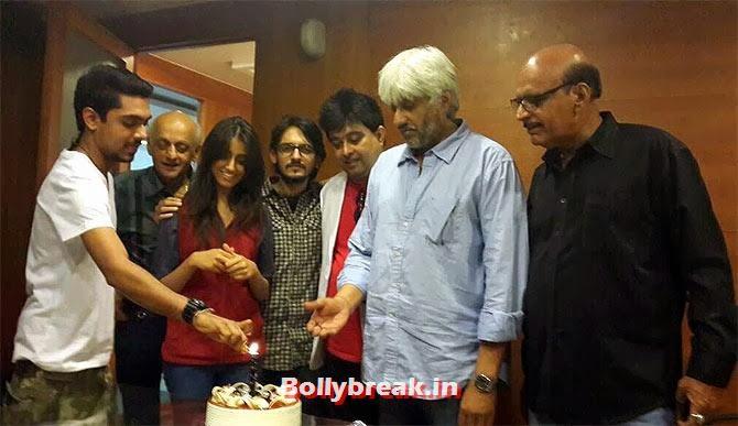 Vikram Bhatt cuts the cake, Raageshwari Wedding Pics