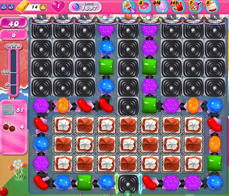 Candy Crush Saga 1697