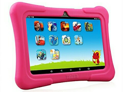 "Kids Tablet Dragon Touch Y88X Plus - 7"" Children's Tab with Pre-Installed Disney Contents"