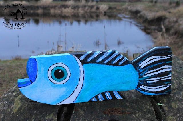 Błękitna rybka