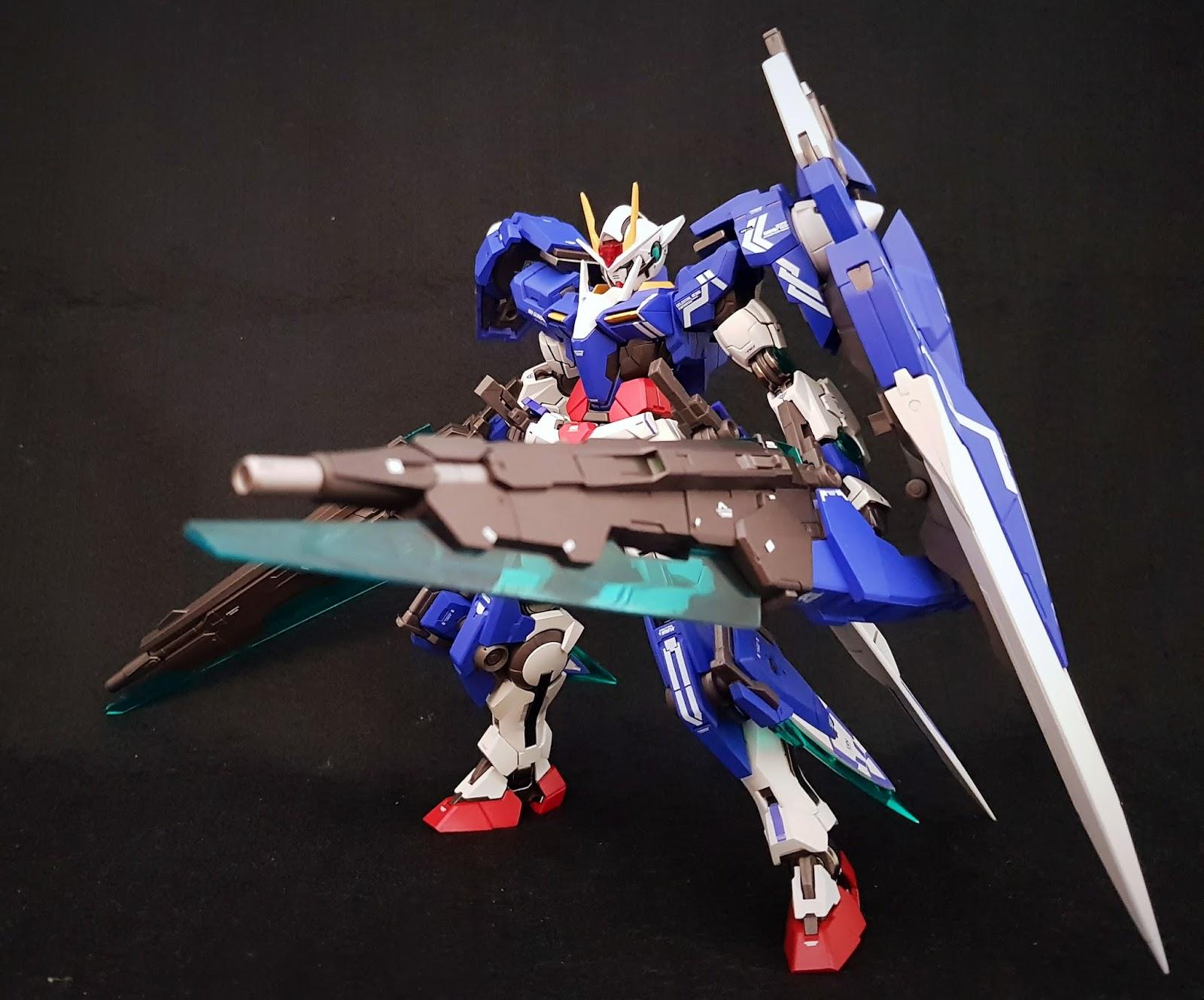 Premium Bandai Metal Build GN Sword II Blaster for 00 Gundam Seven Sword 1//100
