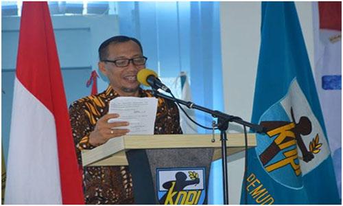 MUSDA Ke XIV  DPD KNPI Kota Padang,Untuk  Pemuda Berakhlak Mulia, Berkualitas Dan Berprestasi.