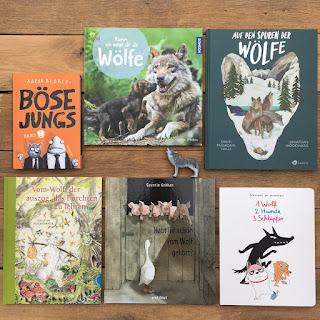 """Buchmission """"Der Wolf ist nicht böse!"""" Mach mit, Buchvorstellung, Kinderbücher, Wölfe, Kita, Grundschule, Märchen, Kinderbuchblog Familienbücherei"""