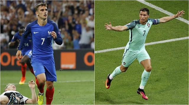 Watch Portugal vs France at Uefa Euro 2016 Final - LIVE TV