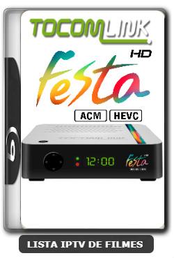 Tocomlink Festa HD Nova Atualização V1.77 Satélite SKS 107.3w ON - 27-12-2019
