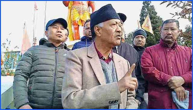 JAP president harka Bahadur Chhetri