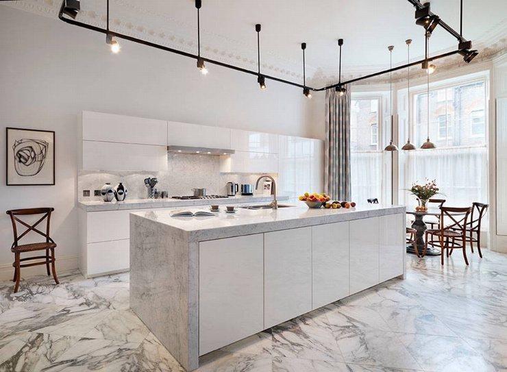 thiết kế thi công nội thất nhà bếp độc đáo 12
