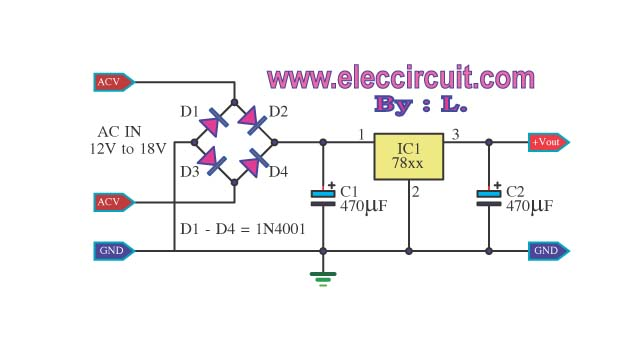 Simple 12v Dc Power Supply Circuits besides Ic Voltage Regulators 40200444 moreover 749077 together with Cheap Car Subwoofer Filter Circuits moreover Lm338 Lm350 Lm317 Voltage Regulator Calculator. on lm7812 voltage regulator circuit