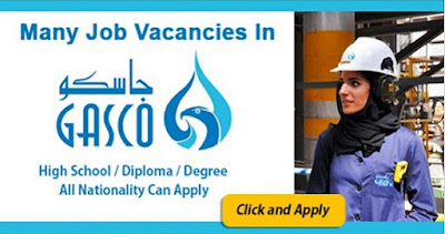 New Job Vacancies in GASCO