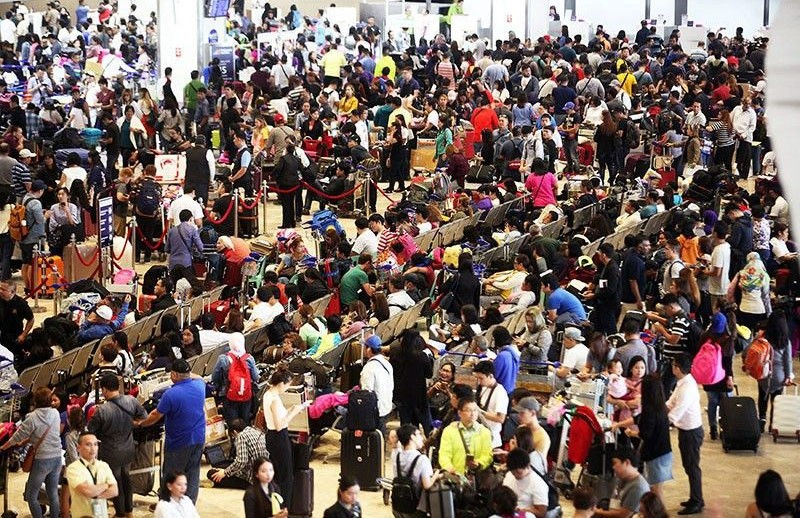 마닐라공항 샤먼항공 사고 혼잡