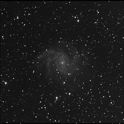 supernova 2017eaw in luminance