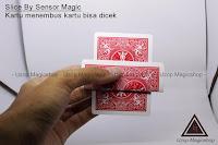 Jual alat sulap Slice By Sensor Magic