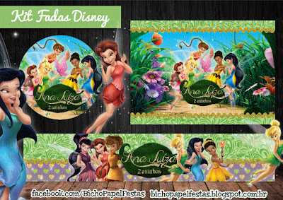 Kit Fadas Disney tinker bell