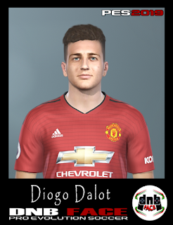 PES 2019 Faces Diogo Dalot by DNB