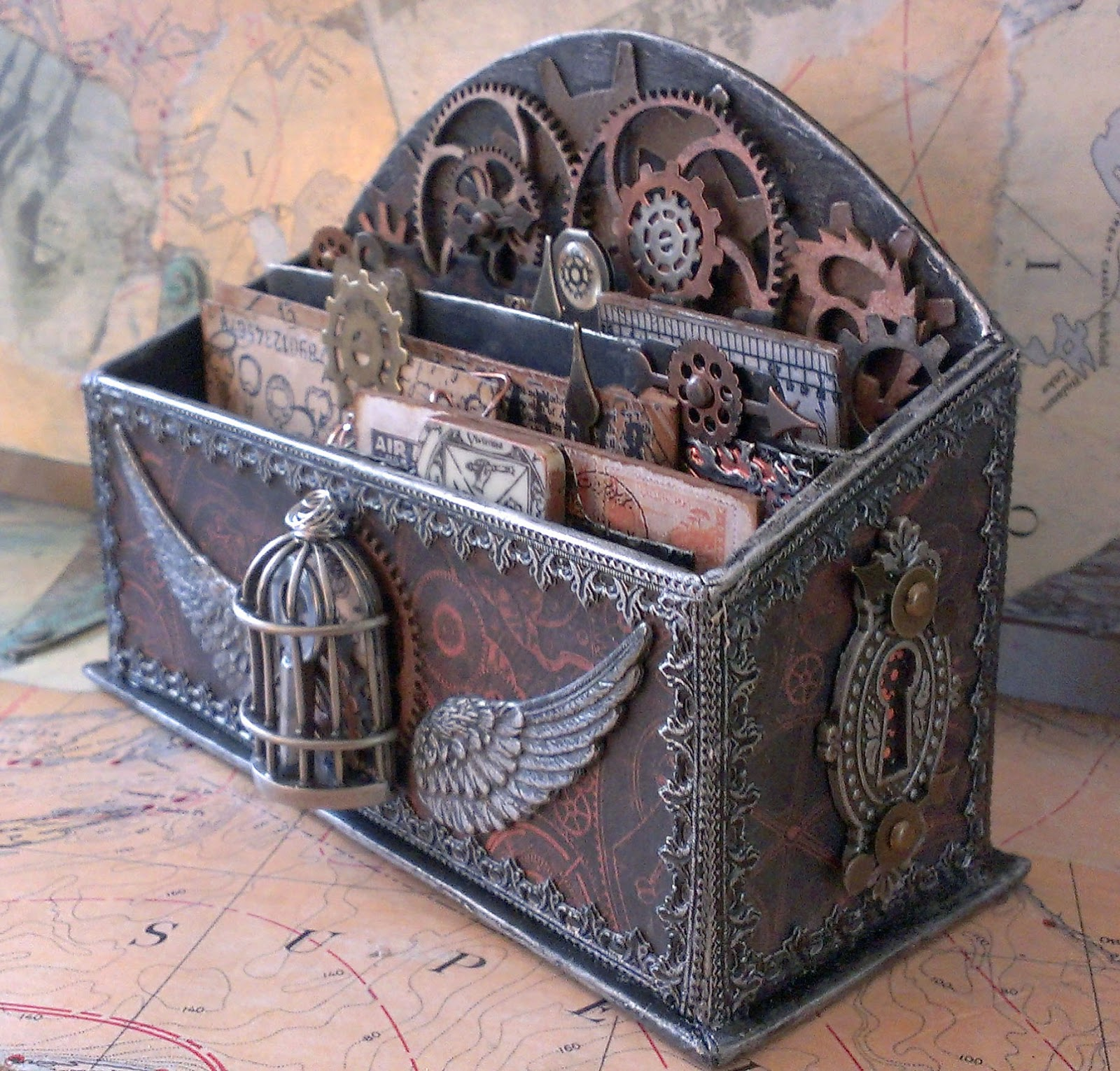 Steampunk Furniture For Sale Starrgazer Creates Steampunk Mail Published