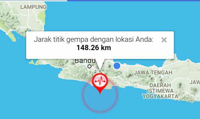 Gempa 6,9 SR Guncang Jawa Barat, BMKG Keluarkan Peringatan Dini Tsunami