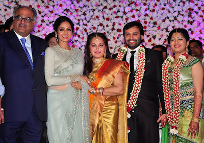 sridevi-her-husband-boney-kapoor-jayapradas-sons-wedding-reception