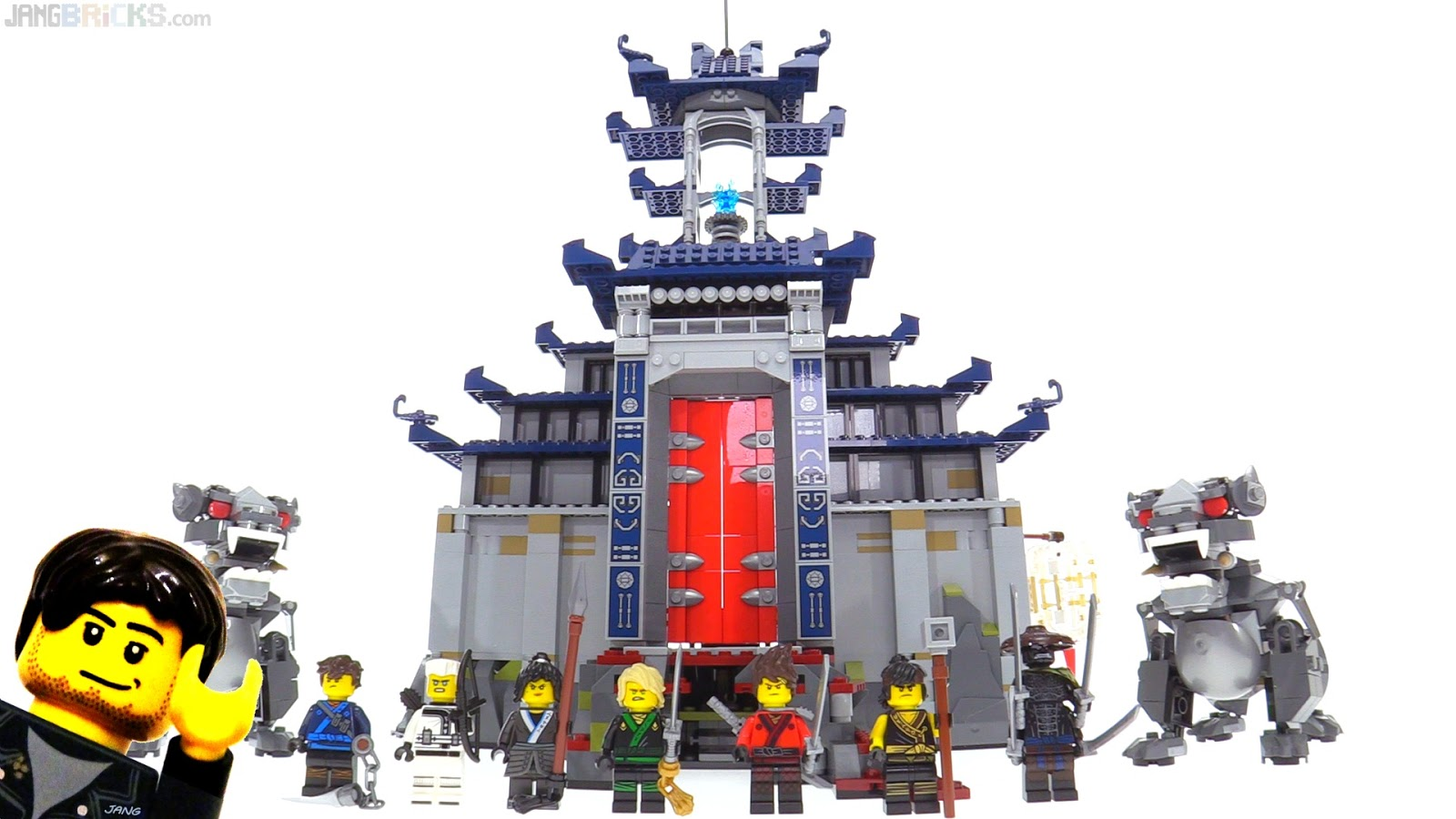 Lego Ninjago Movie Temple Of The Ultimate Ultimate Weapon Review 70617