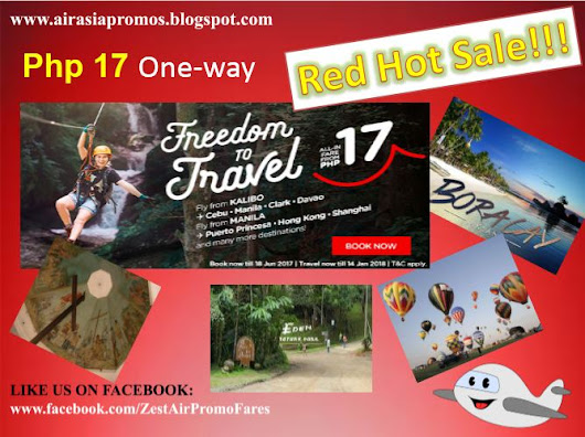 Php 17 Air Asia Promo Fare