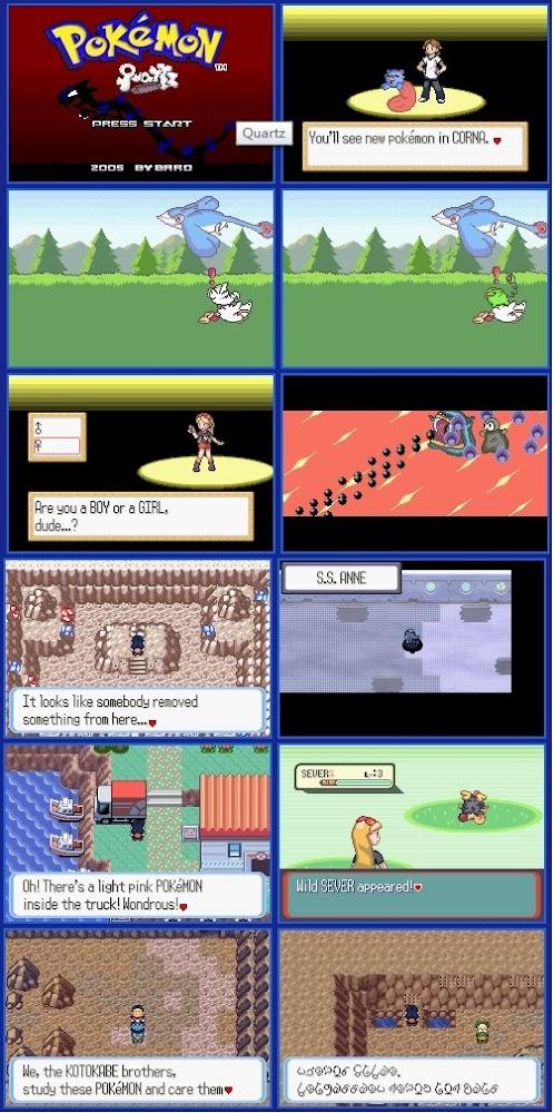 Pokemon Quartz