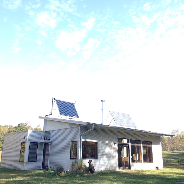 Thoughts On Water At The Off Grid Prefab House