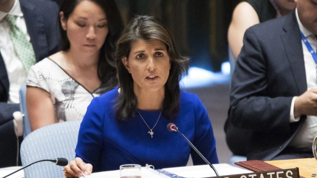 Embajadora norteamericana habló fuerte sobre la crisis de ambos países / AP