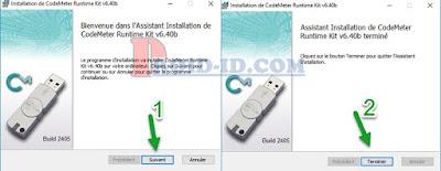 Install CodeMeter