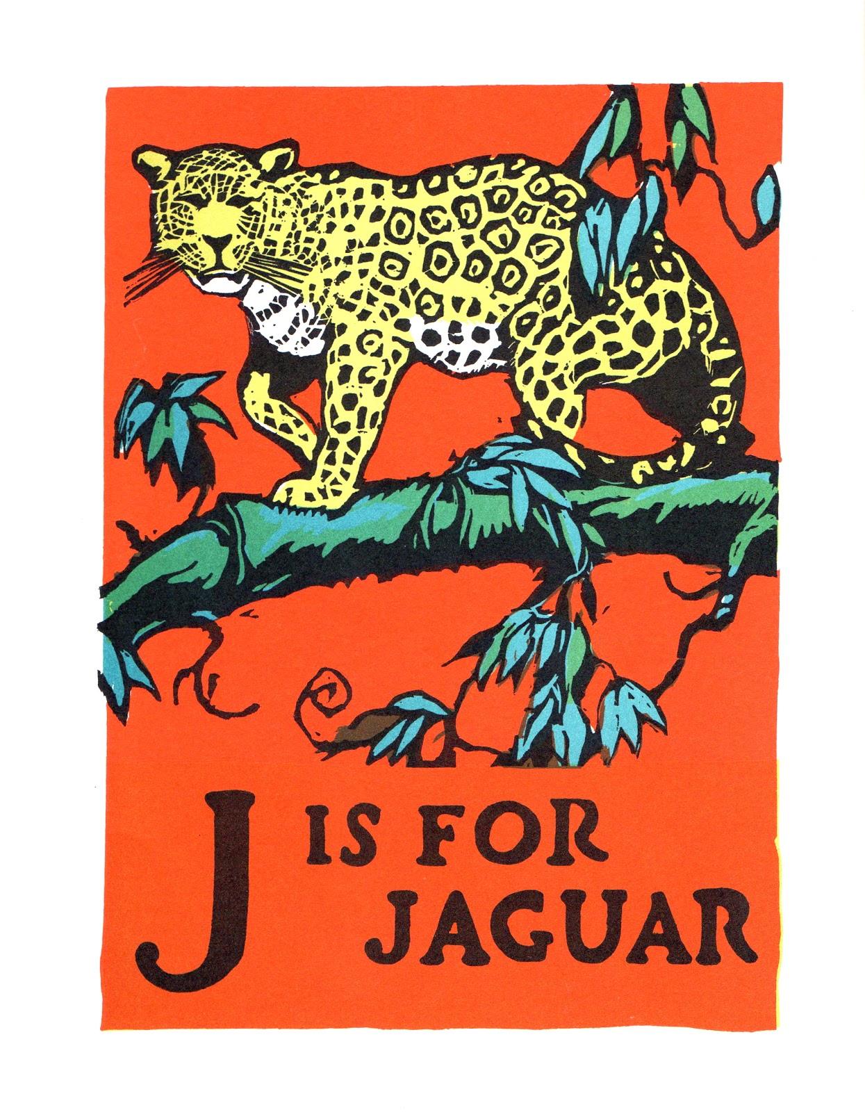 A Vintage Cottage Home J Is For Jaguar