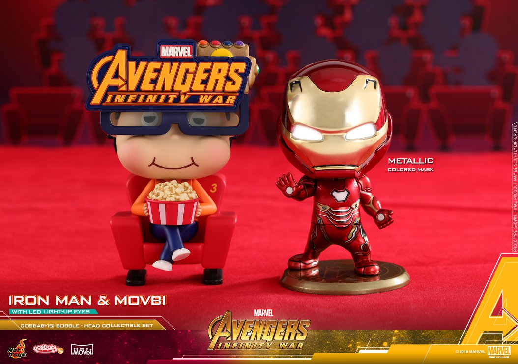 The Blot Says   : Avengers: Infinity War Cosbaby Mini Figure