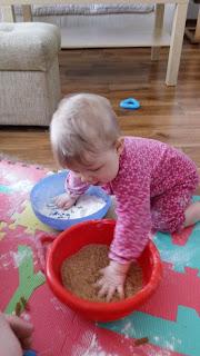 rozwój dziecka - zabawy sensoryczne