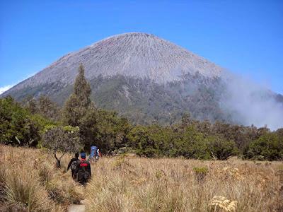Seorang Kakek 62 Pengantar Rombongan Pendaki Gunung Semeru Meninggal Dunia