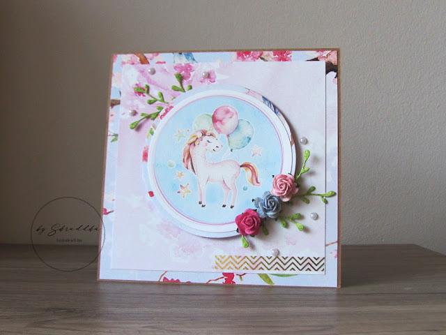 001. Uniwersalna kartka z grafiką od Pretty Pink