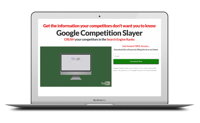 Google Competition Slayer [Rank you at the TOP of GOOGLE]