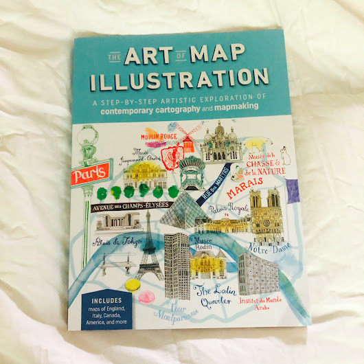 Create Your Own Personalized Maps with THE ART OF MAP ILLUSTRATION!