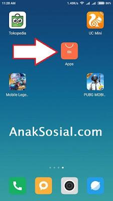 Aplikasi Baru yang tidak bisa dihapus