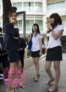Seragam sekolah thailand paling seksi