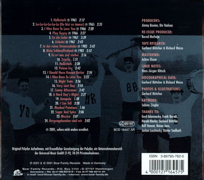 The Yankees-  Beat In Germany/ The 60s Antology - Smash Boom Bang