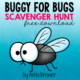 FREE Bug Scavenger Hunt- take learning outside!
